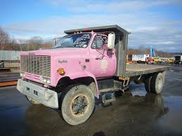 1988 GMC Topkick Single Axle Flatbed Dump Truck For Sale By Arthur ...