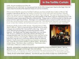 Tortilla Curtain Quote Analysis by Tortilla Curtain Essay