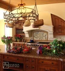 Tuscan Hood Farmhouse Kitchen