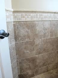 ceramic tile chair rail molding tile rail molding how to install