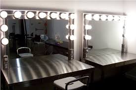 make a vanity makeup desk with lights all home ideas and decor