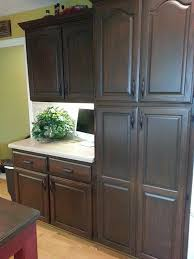 Restaining Oak Cabinets Forum by Best 25 Gel Stain Cabinets Ideas On Pinterest How To Stain