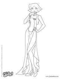 Coloriage Totally Spies Sensationnel Coloriage Totally Spies Gratuit