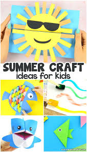 Creative Arts Activities For Preschoolers Summer Crafts Kids Lots Of Fun Art And Craft Ideas Developmentally