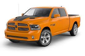 100 Dodge Pickup Trucks For Sale LimitedEdition Orange And Black 2015 Ram 1500 Coming In