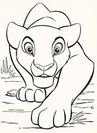 Disney Coloring Pages Lion King