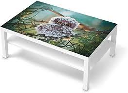 creatisto möbel klebefolie passend für ikea lack tisch 118x78 cm i möbelsticker möbel aufkleber folie i wohndeko für wohnzimmer und