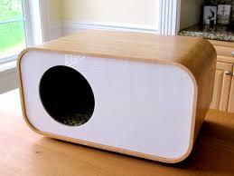 modern cat modernmews cat house etsy cat house cat