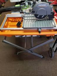 Ridgid Wet Tile Saw by Ridgid Tile Saw For Sale Only 3 Left At 60