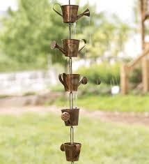 Decorative Rain Gauges Replacement Glass watering can rain chain wind u0026 weather