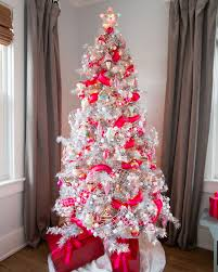 Evergleam Pink Aluminum Christmas Tree by White Christmas Trees Decorated Blue Ngorong Club Flowering