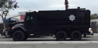 San Diego County Sheriff SWAT Vehicles At Donald Trump Rally | May ...