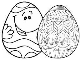 Free Printable Easter Egg Coloring Pages For The Kids