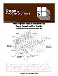 dca 6 prescriptive residential deck construction guide
