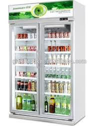 Customized Drink Display Fridge