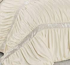 Lush Decor Serena Bedskirt by Amazon Com 7 Piece Claraita Chic Ruched Pleated Comforter Set