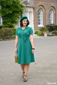 the perfect 1940s style dress from pretty retro ootd vintage frills