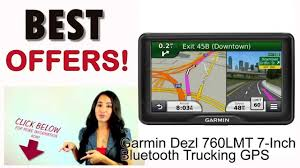 100 Garmin Commercial Truck Gps Dezl 760LMT 7Inch Bluetooth Ing GPS With