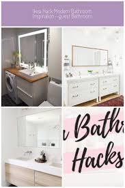 inspiration modern ikea bathroom