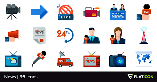 News 36 Free Icons SVG EPS PSD PNG Files