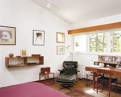 A Classic Eames Lounge Chair On Display In Architect Peter ...