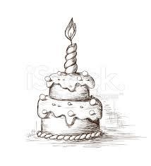 Drawn cake sketched 6