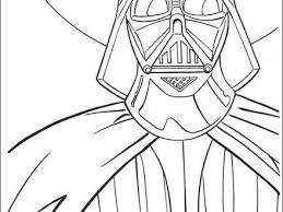 Darth Vader Coloring Pages Hellokidscom