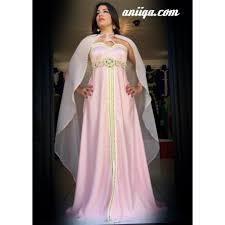 robe orientale moderne pale avec cape pas cher en ligne
