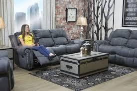 Berkshire Gray Reclining Sofa Mor Furniture For Less Sofas s