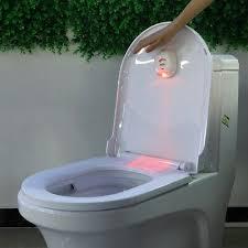 2pcs 16 led licht motion activated wc toilette sensor