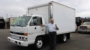 Town And Country Truck #5753: 1993 ISUZU NPR 12 Ft. Box Truck - YouTube