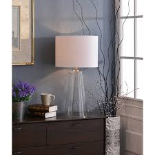Fillable Craft Table Lamp by Design Craft Chamberlain 29 Inch Clear Glass Table Lamp Free