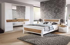 schlafzimmer set komplett 4 teilig weiß glanz eiche grandson