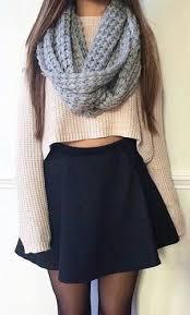 Image Result For Skater Skirt Outfits