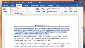 Microsoft fice for Mac 2016 review At last a modern fice for