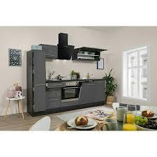 respekta premium küchenzeile rp250egcbo breite 250 cm mit