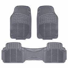 3pc Car Floor Mat Universal Set Carpet Mats Rugs Truck SUV Deluxe ...