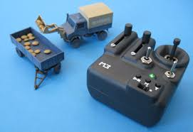 100 Micro Rc Truck 3Dprinted RC Unimog And Transmitter 187 RC