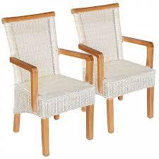 casamia esszimmer stühle set rattanstühle perth 6 stück weiß