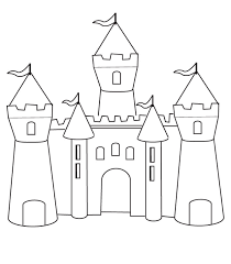 Free Coloring Pages Of Ireland Castle