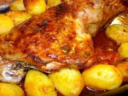 recette de cuisse de dinde à la tomate au four