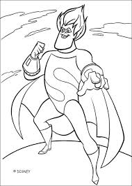 Coloring Page About The Famous Disney Movie Incredibles Here