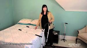 Elderly Bed Rails by Bed Rail Assist By Drive Medical 15063 Adj Youtube
