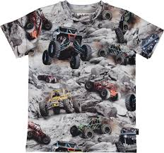 100 Monster Truck Shirts Tshirts Tops Boys Clothes Urban Design And High Quality Kids