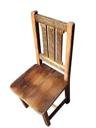 Reclaimed Antique Oak Rustic Mission Dining Chair