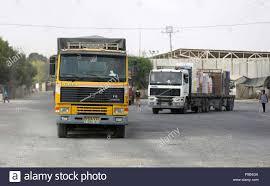 100 Truck Town Ga Rafah Za Strip Palestinian Territory 17th July 2018 A Truck