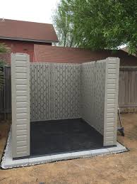 simple outdoor design with rubbermaid roughneck large storage shed