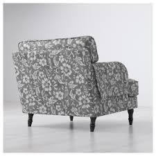 stocksund armchair ljungen blue light brown ikea