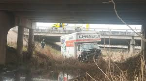 U-Haul Flips, Lands In Culvert Under US 190/I-14 In Nolanville ... Joe Lorios Adventure In A 26 Foot Long U Haul Deliveries Minuteman Trucks Inc Truck Review Video Moving Rental How To 14 Box Van Ford Pod Dashboard Diary The Original Day 19 20 Discounts Deals 4 Military Comparison Budget Should You Rent Uhaul For Fun An Invesgation Activity At Routes 47 With Opening Woodstock Two Door Mini Mover Available Large Cargo From Drive A Hugeass Across Eight States Without