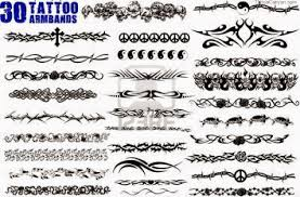 Latest Tribal Armband Tattoo Designs